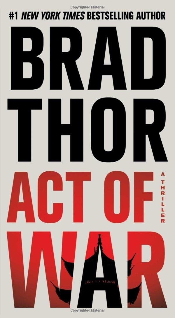 Act of War: A Thriller SIGNED