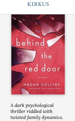 Behind the Red Door NEW - SIGNED Bookplate, Paperback Pre-order