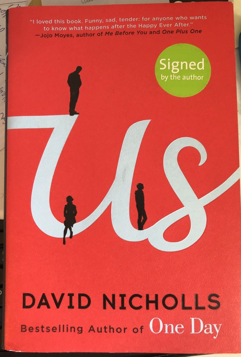 Us: A Novel SIGNED