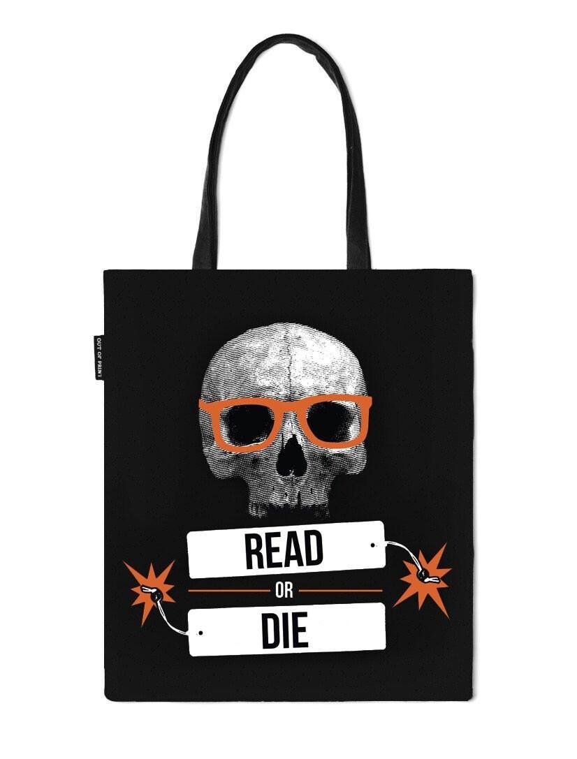 Read or Die Tote Bag NEW