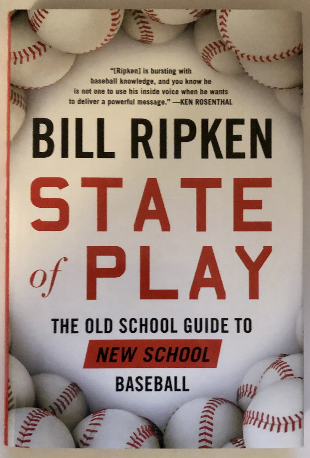 State of Play: The Old School Guide to New School Baseball NEW, 30% OFF