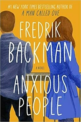 Anxious People: A Novel NEW, 30% OFF