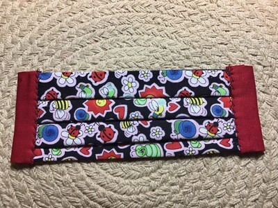 """Artisan Youth Mask - Measures 61/2 """" - 2 Elastic Straps Included"""