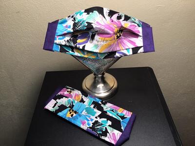 Adult Artisan Mask Floral Prints