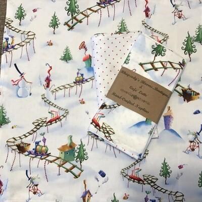 Christmas Napkins Set/2