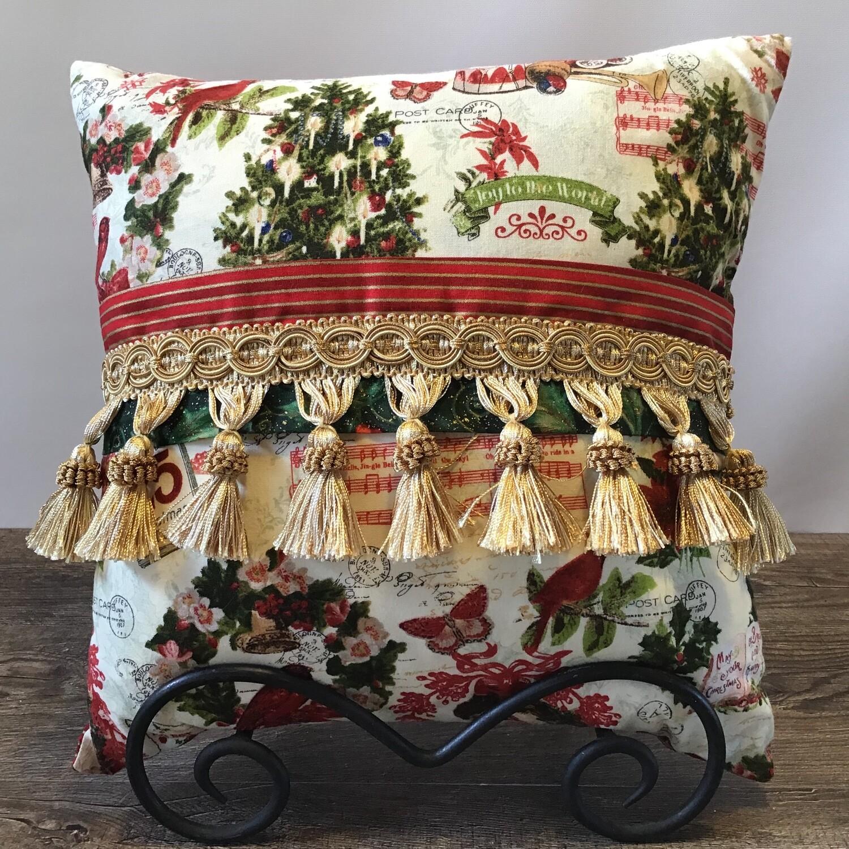 Santa Holiday Pillow