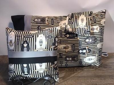 Victorian Boudoir Pillow & Pillowcase (2) Set