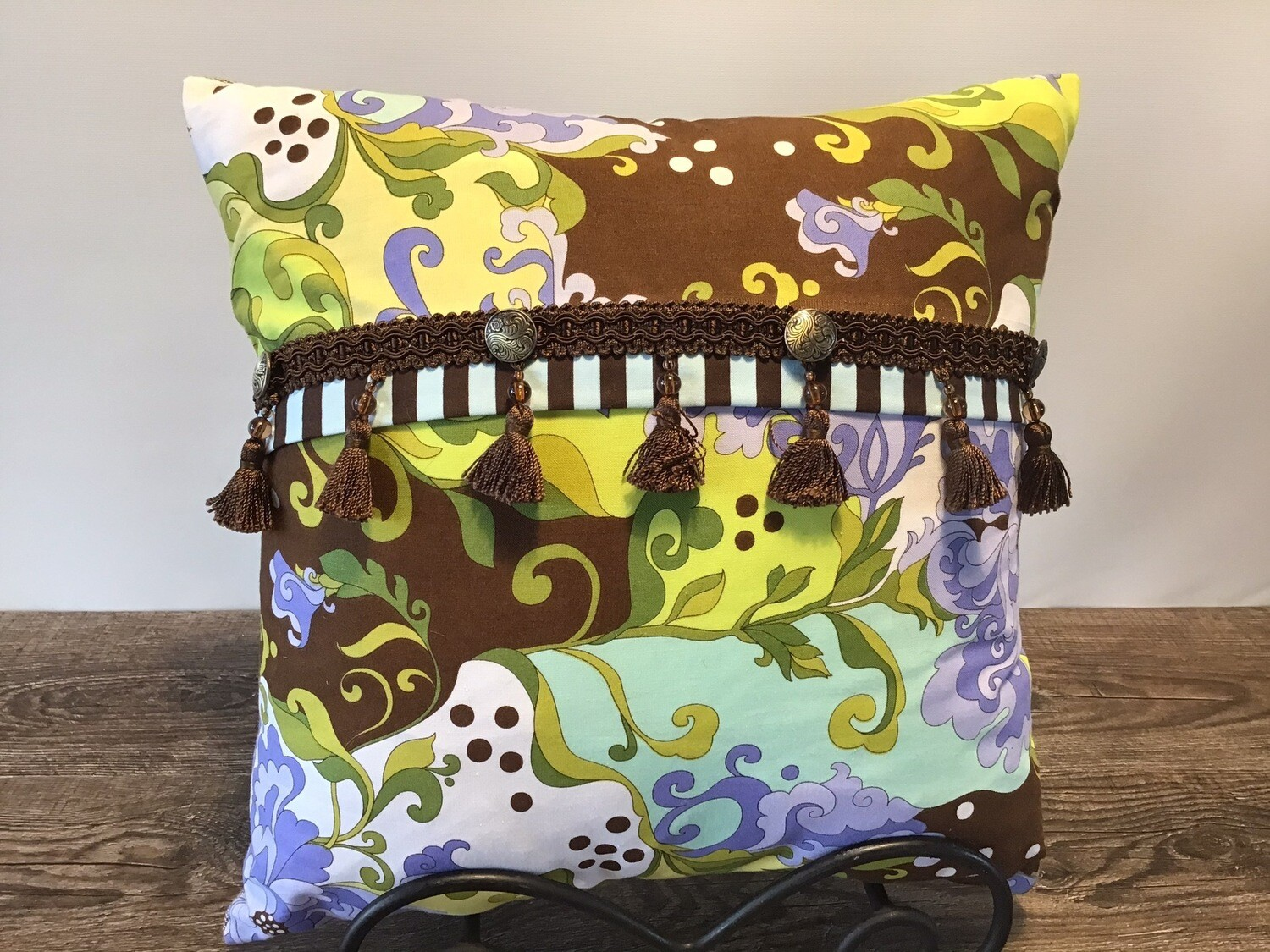 Mod Paisley Home Decor Pillow