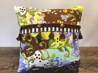 Mod Paisley Home Decor Pillow