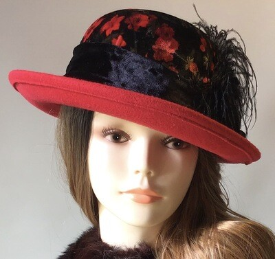 Red Roller Hat