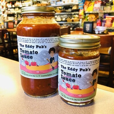 The Eddy Pub's Locally Grown Tomato Sauce