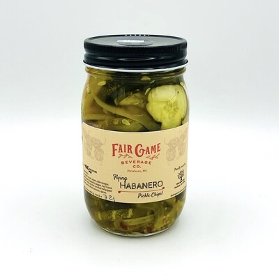Fair Game Beverage Co Flying Habanero Pickle Chips
