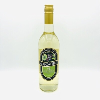 Childress Vineyards Muscadine Sweet White Wine