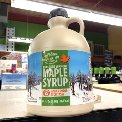 Butternut Mountain Farm 100% Pure Vermont Maple Syrup