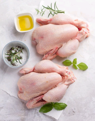 Whole Pastured Poultry from TerraStay Farm (4-4.5 lb)