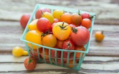 Mixed Cherry Tomatoes from TerraStay Farm (1 pint)