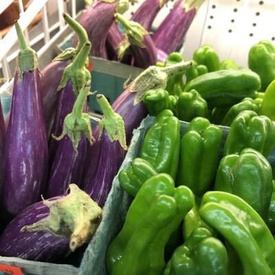 Fairytale Eggplant from Eat Dirt Farm (1 pint)