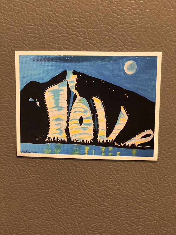 Shawnee Peak Lov Magnet
