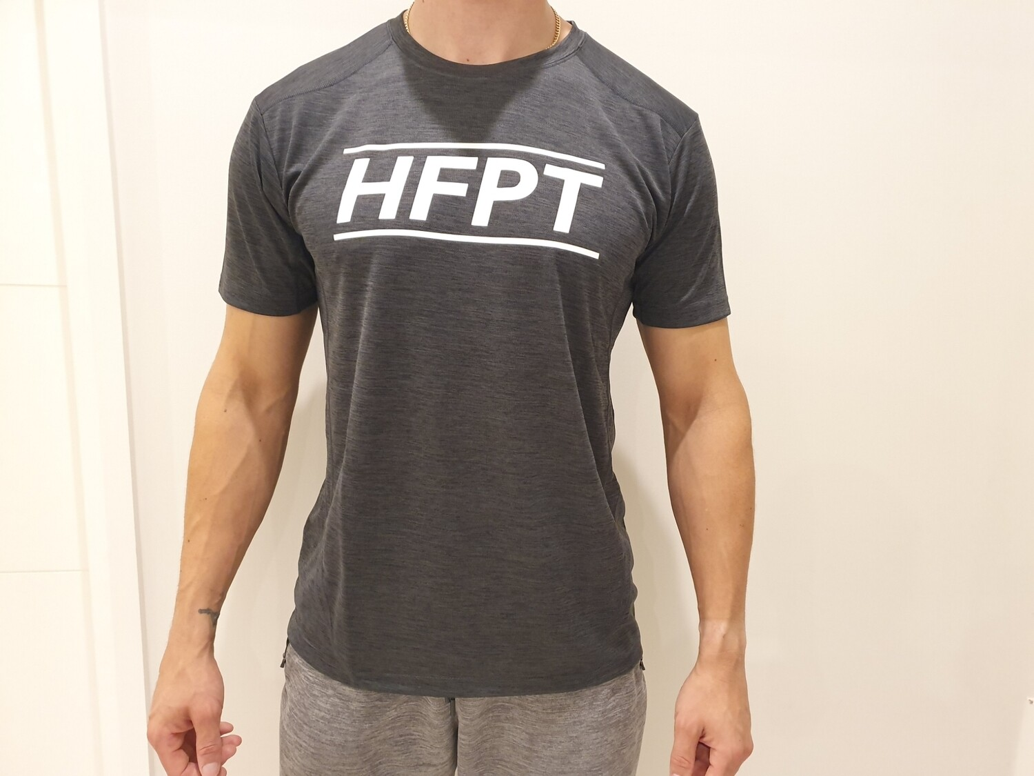 Men's 100% Polyester Dry Fit Tee