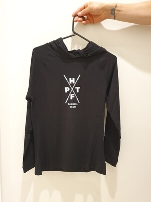 Ladies Fusion T-Shirt Hoodie