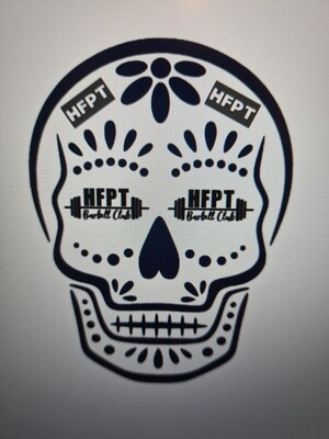 HFPT Skull Design (Male/Unisex Sizing)
