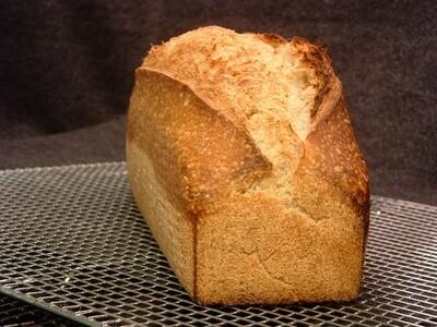 Trevor's Sourdough Pan Loaf