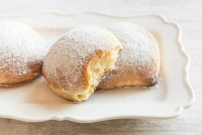 Baked ricotta and citrus sfogliatella 'frolla'