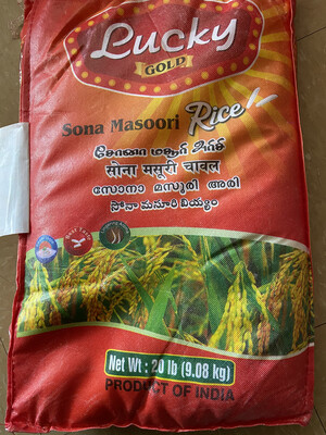 Lucky Sona Masoori 20LB