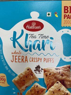 Haldirams KHARI JEERA PUFFS 400G