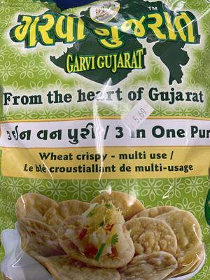 Garvi Gujarat 3 in1 Chat Papdi 2Lb
