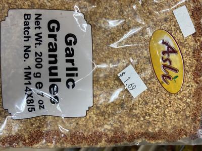 Asli Garlic Granules 200g