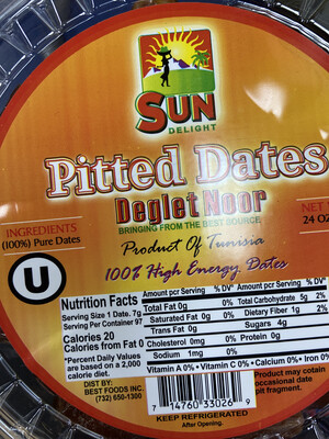 Sun pitted Dates Delight 24oz