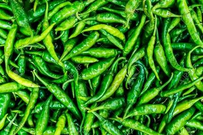 GREEN CHILLIS SMALL 0.5 LB