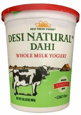 Desi wholemilk Yogurt 2LB