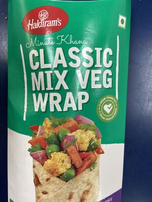 Haldirams Classic Mix Veg Wrap 156g
