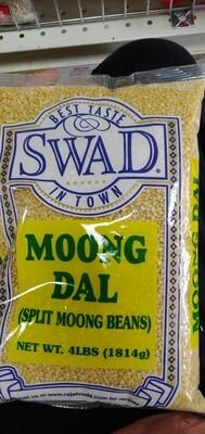 Swad Split Moong Dal 4lb