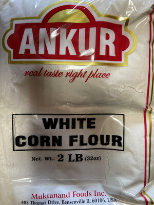 WHITE CORN FLOUR ANKUR 2LB