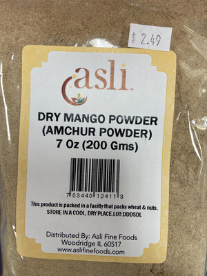 Dry Mango Powder 7oz Delete