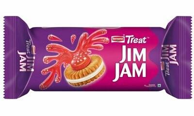 Britania Jim Jam Biscuits 100g