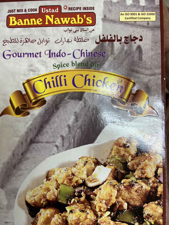 Banne Nawab Chilli Chicken Masala 110g