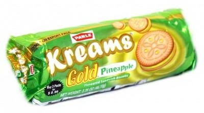 Parle Kreams Gold Pineapple 2.35oz