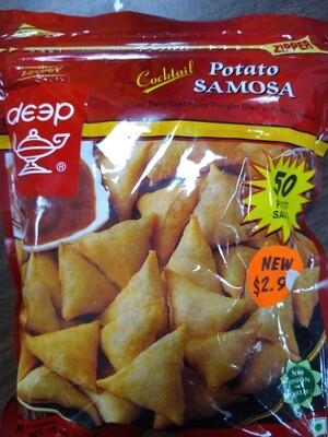 Deep Cocktail Samosas Potato 50pc
