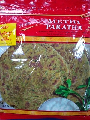 Deep Methi Paratha 5pc