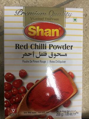 Shan Red Chilli Powder 200g