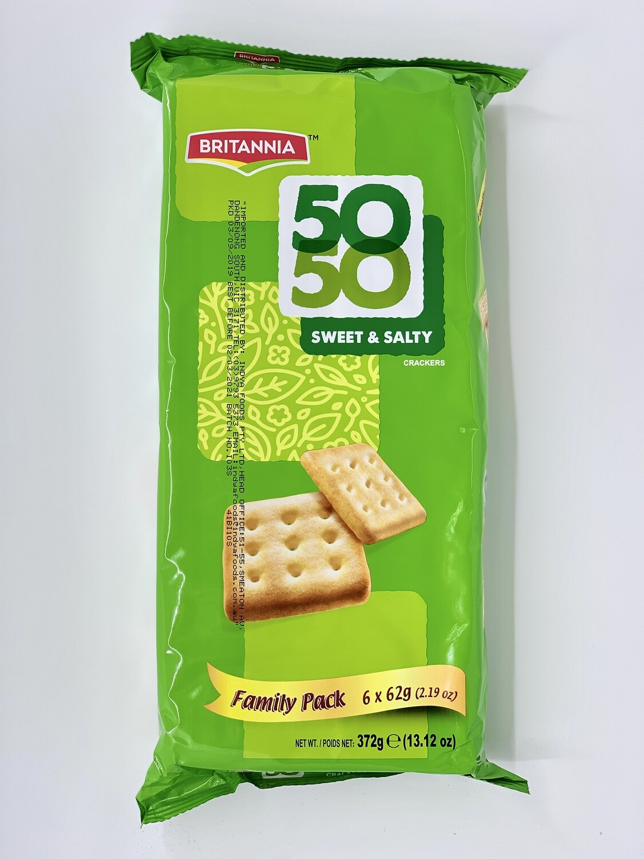 50-50 SWEET & SALTY FP  BRITANNIA