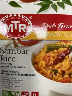 MTR Sambar Rice Ready To Eat 300g