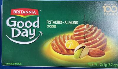 BRITANNIA Good Day Pista Almond Cookies 8.2oz