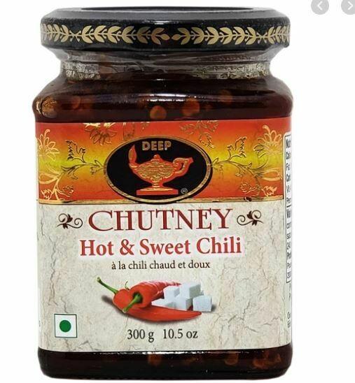 HOT&SWEET CHILI CHUTNEY 10.5oz