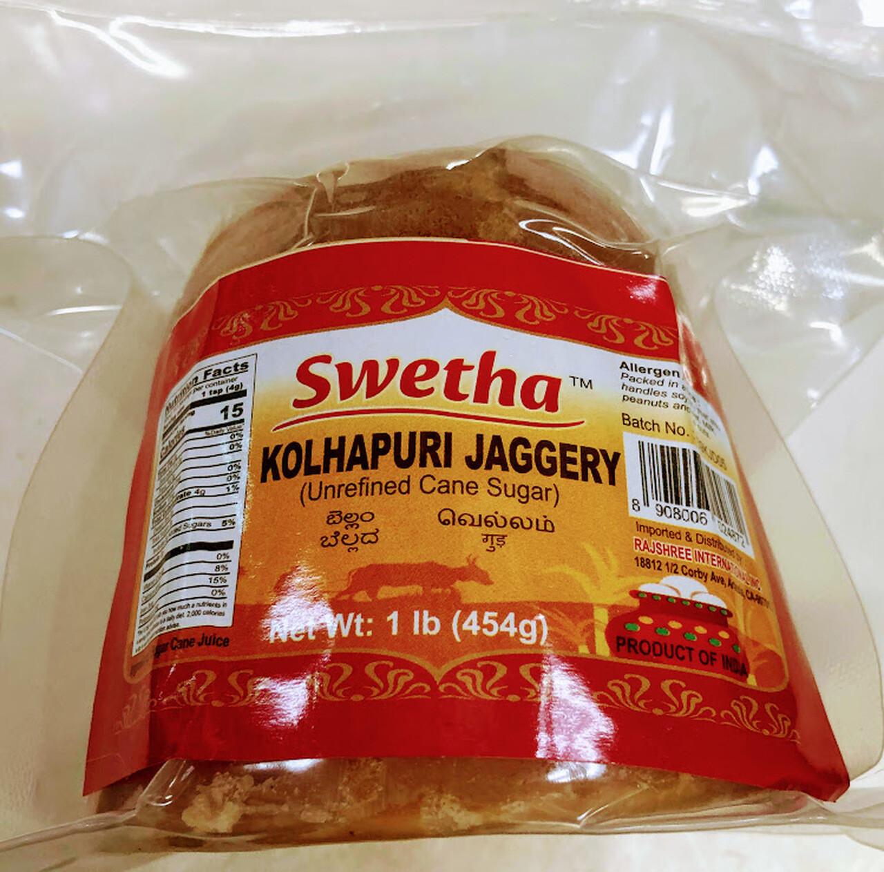 Swetha Kolhapuri Jaggery 1Lb