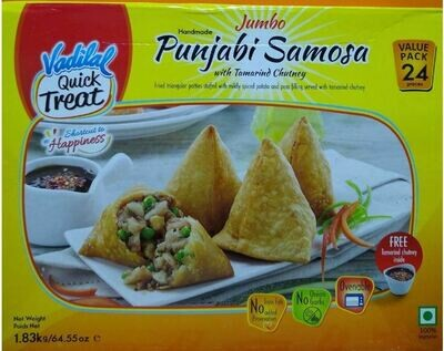 Vadilal Jumbo Punjabi  Samosa 24pc